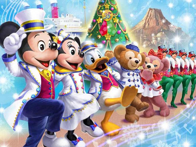 【2018】ディズニークリスマスお土産グッズ&ショーパレード情報!新ハーバーショー開催&抽選情報!