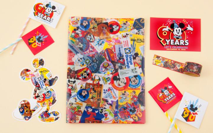 【最新】ミッキーの生誕90周年を祝うグッズ28種類!デコレーション・メニュー・フリーきっぷも
