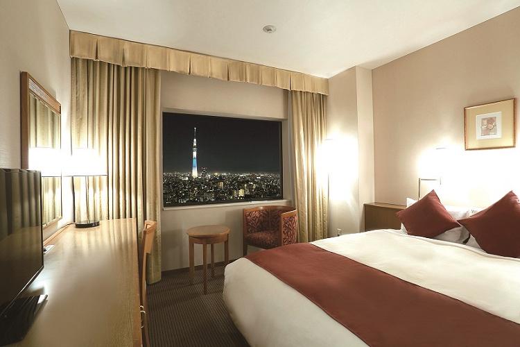 【第一ホテル両国】おすすめのディズニーグッドネイバーホテル!客室&サービスまとめ!比較についても!