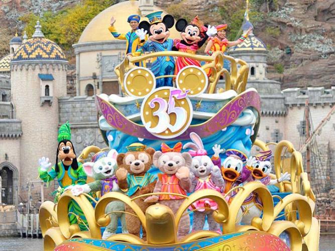 【ディズニー35周年の曲】「Brand New Day」歌詞&原曲!ショー・パレード使用曲まとめ!