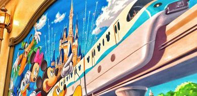 【ディズニーのモノレール】値段&フリーきっぷまとめ!ディズニーリゾートラインのプラレールが登場!