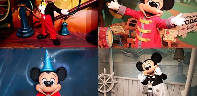 ディズニーでミッキーに会う4つの方法。ミートミッキー・グリーティング・ショーレストラン