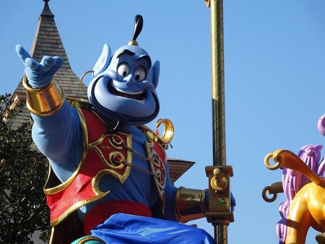 ランプの魔人【ジーニー】声優・ディズニーで会える場所・グッズを徹底解説