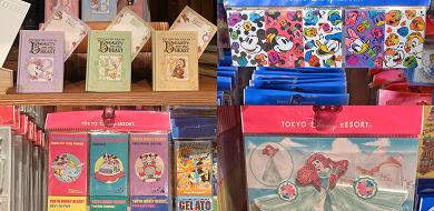 【ディズニー文房具】メモ帳&ふせん86種類まとめ!ランド&シーのお土産におすすめ