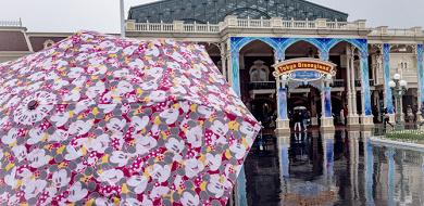 【雨のディズニー】ランド&シーの楽しみ方!持ち物・服装まとめ!限定パレードあり!おすすめアトラクションも