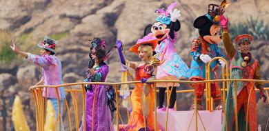 【2018】ディズニーイースターのショー「ファッショナブルイースター」がTDS限定開催!鑑賞場所&キャラクター