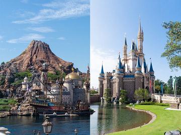 【比較】ディズニーランドとシーを9つの項目で比べてみた!違いは?どっちがおすすめ?
