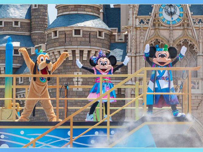 【2018】ディズニー夏祭りお土産グッズ&ショー情報!新プロジェクションマッピングもスタート!