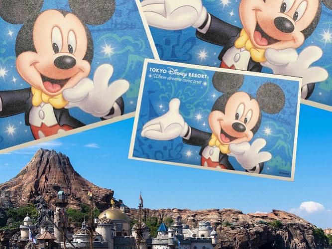 【必見】懐かしのディズニー歴代チケットデザインまとめ!開園当初デザインから35周年限定デザインまで!