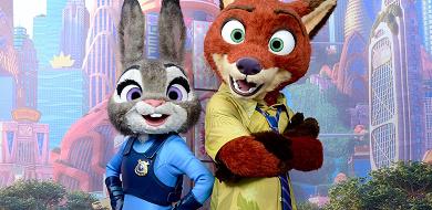 【最新】ジュディ&ニックグリーティングがディズニーランドでスタート!ズートピアのキャラクターに会える!