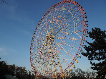 【葛西臨海公園の観覧車】チケット・割引・風景まとめ!富士山・東京タワー・スカイツリーが見える観覧車!