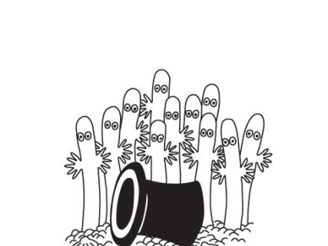 【キャラ解説】ニョロニョロの正体は?ムーミンに登場する白い生物の生態を徹底分析