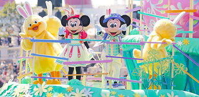 """東京ディズニーシー""""ディズニーイースター2020""""!グッズ、ショー、メニューにうさピヨ登場!"""
