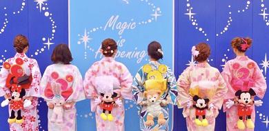 【2020】浴衣ディズニーコーデ&アレンジ12選!素敵な着こなしを見つけよう!ディズニーグッズアレンジも!