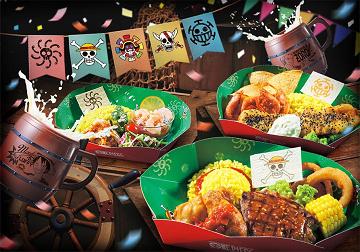【USJ】ワンピース海賊食堂2019!場所、開催期間、メニューと値段、営業時間、おすすめポイント
