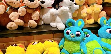 【11/1発売】ディズニー新作フラッフィープラッシー6選!「ダッキー&バニー」が登場!「レディ」や「ナナ」も!