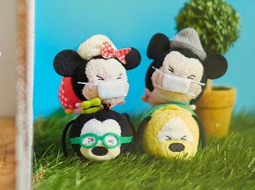 【2020】ディズニーのマスク10選!ディズニーリゾート・ディズニーストア・薬局のマスクで風邪&花粉予防!