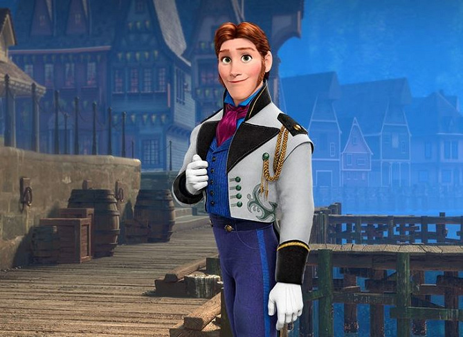 アナと雪の女王2 ハンス