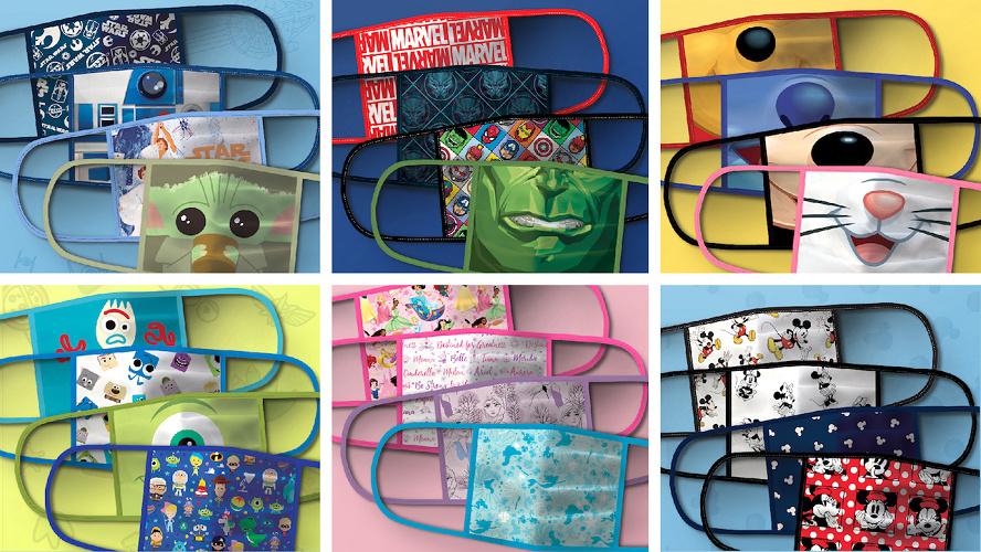 【shopDisney】ディズニー布マスク販売!日本への発送も可!種類&値段まとめ!購入方法も!
