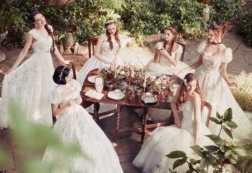 【ディズニー】ウエディングドレスコレクション!プリンセスたちのカラードレスなどが登場!