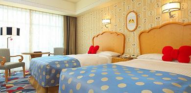 【解説】ミニーマウスルームのお部屋の様子は?値段&予約方法まとめ!宿泊者特典も!