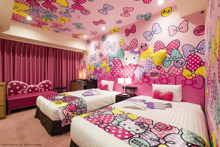 【全国版】サンリオのキャラクタールーム紹介!かわいいお部屋でサンリオの世界を満喫、GoToトラベルも!