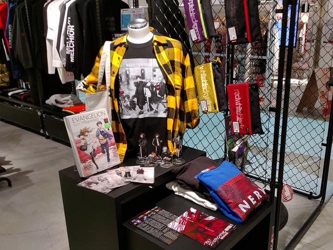 渋谷パルコのエヴァショップ「RADIO EVA STORE」に潜入!コラボグッズやファッションアイテムが満載!