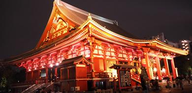 【浅草寺】建造されて約1400年の歴史まとめ!飛鳥時代・江戸時代・現在の様子は?