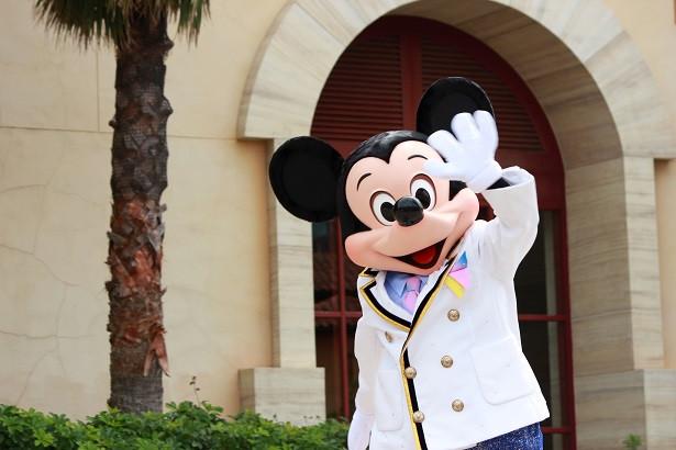 特別イベントでマイタイムバンドと登場したミッキーマウス