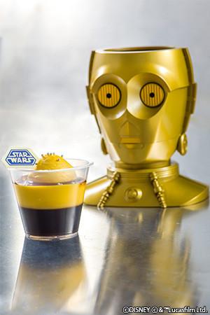バニラムース&コーヒーゼリーのカップデザート