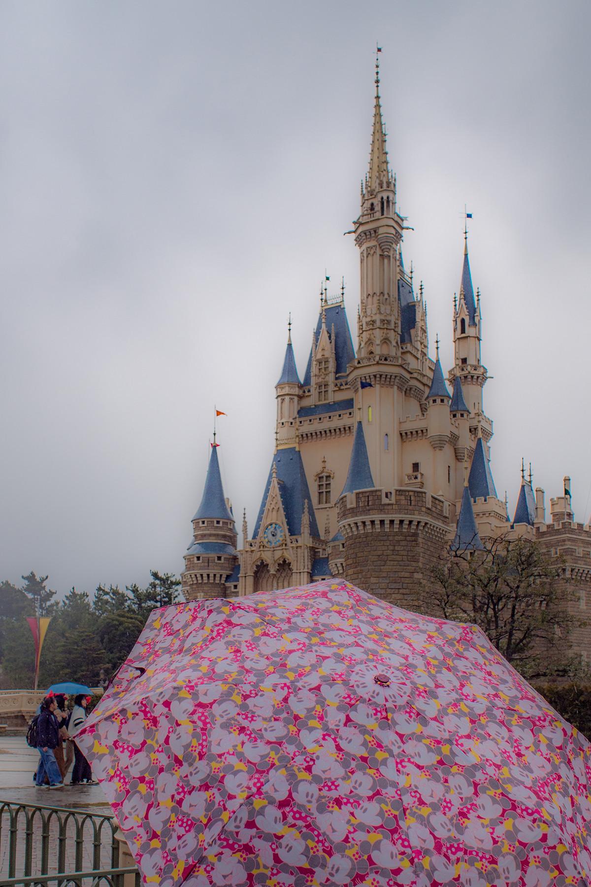 雨の日にディズニーへ持っていく物