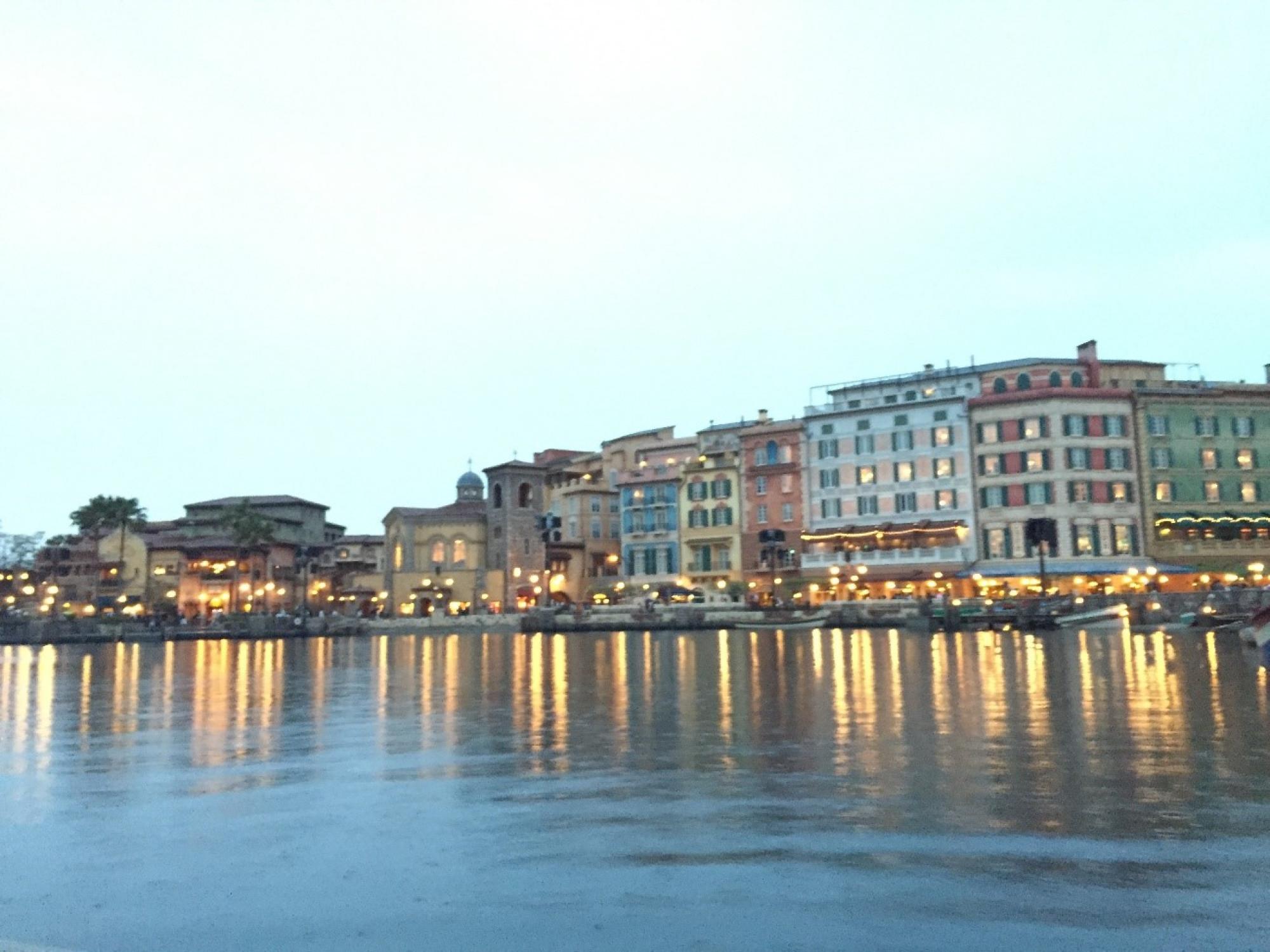 ヴェネツィアン・ゴンドラからの景色