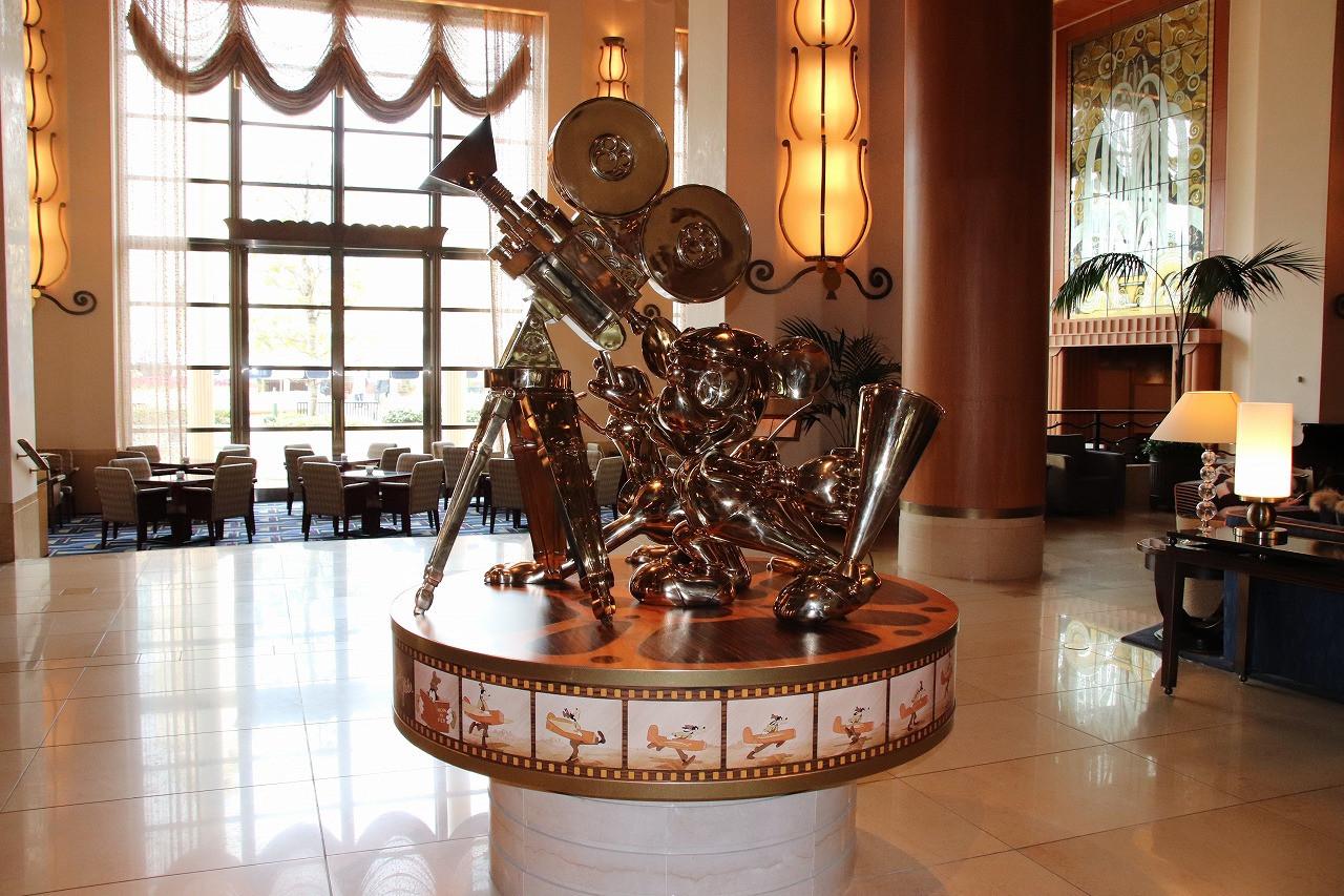 アンバサダーホテルのロビー