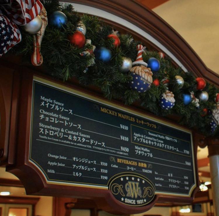 クリスマスの装飾もアメリカンですね