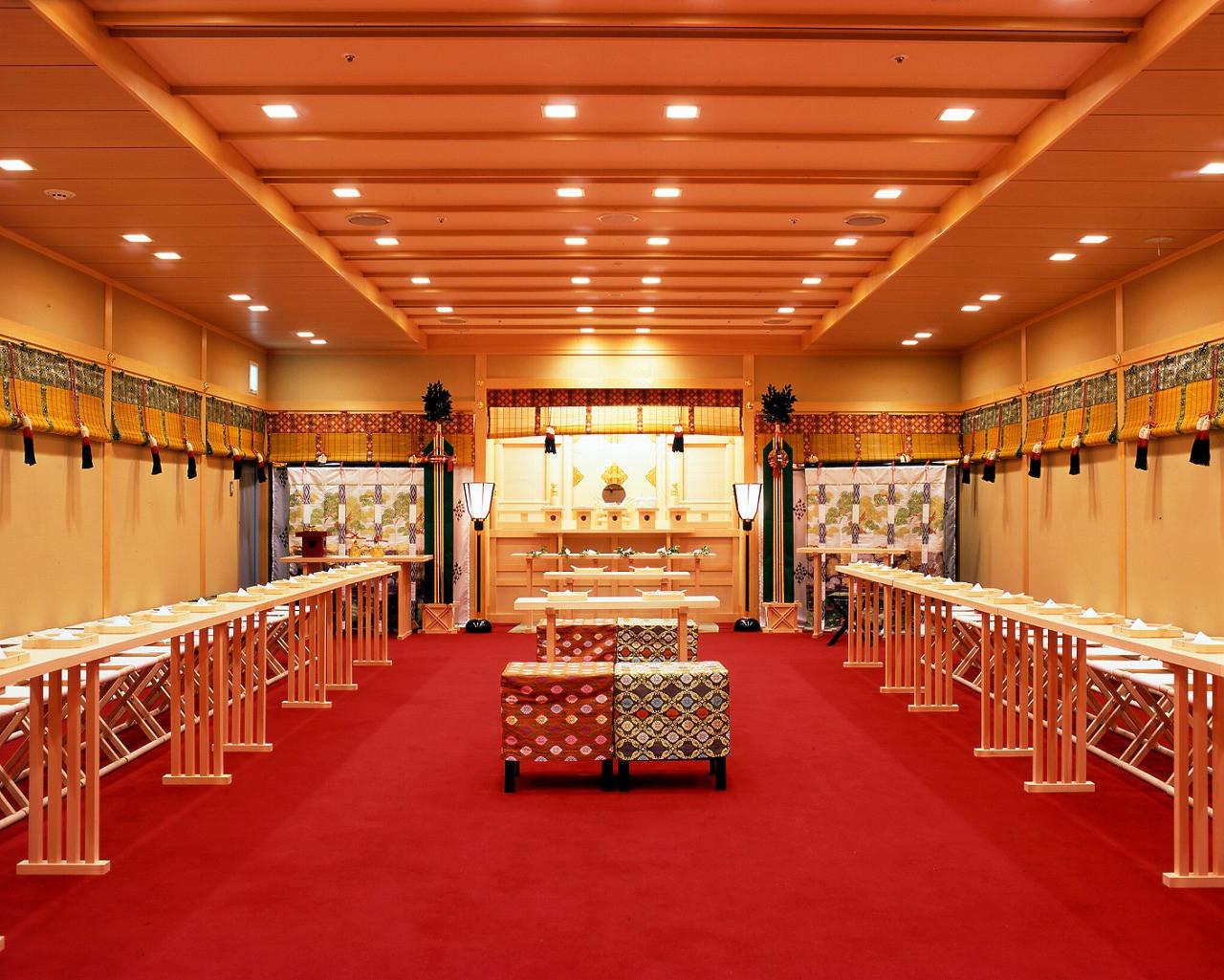 京成ホテルミラマーレの神殿