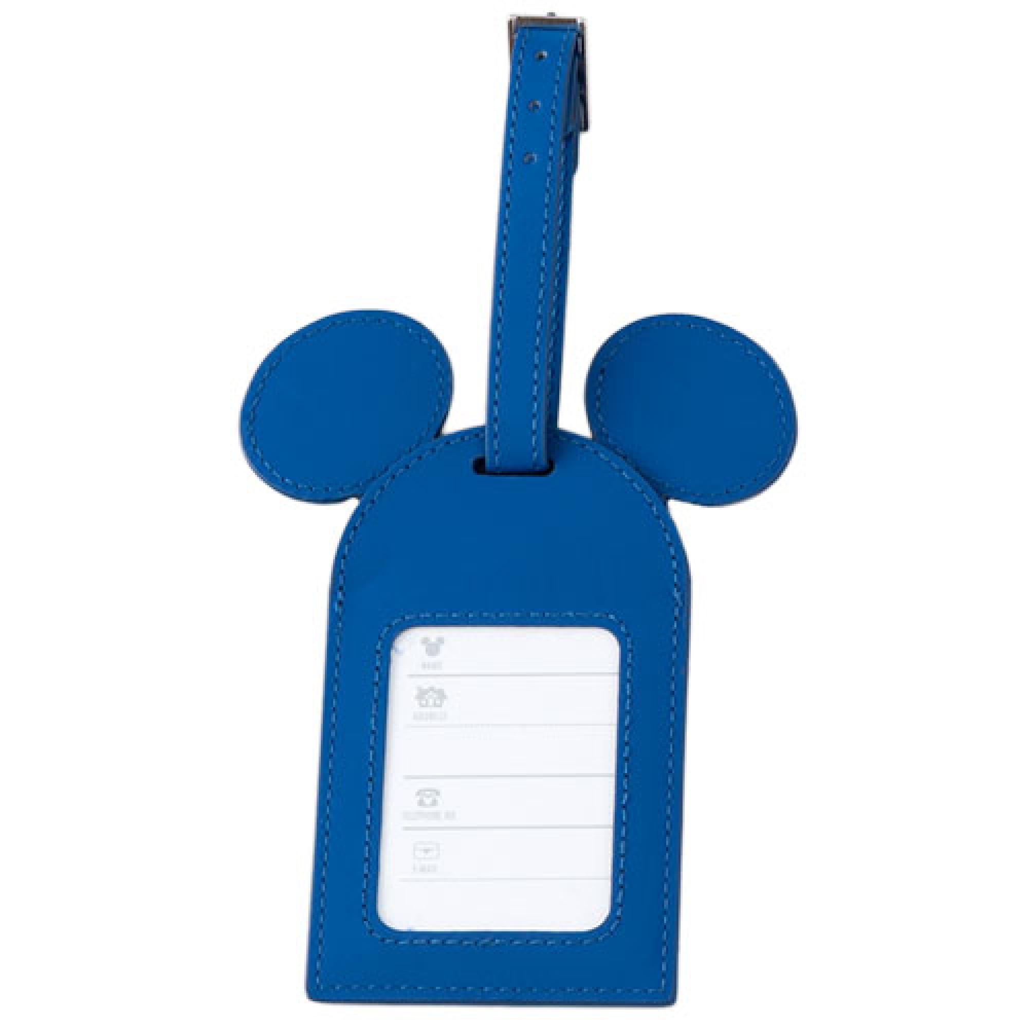 ラゲッジタグ裏(ミッキーマウス)