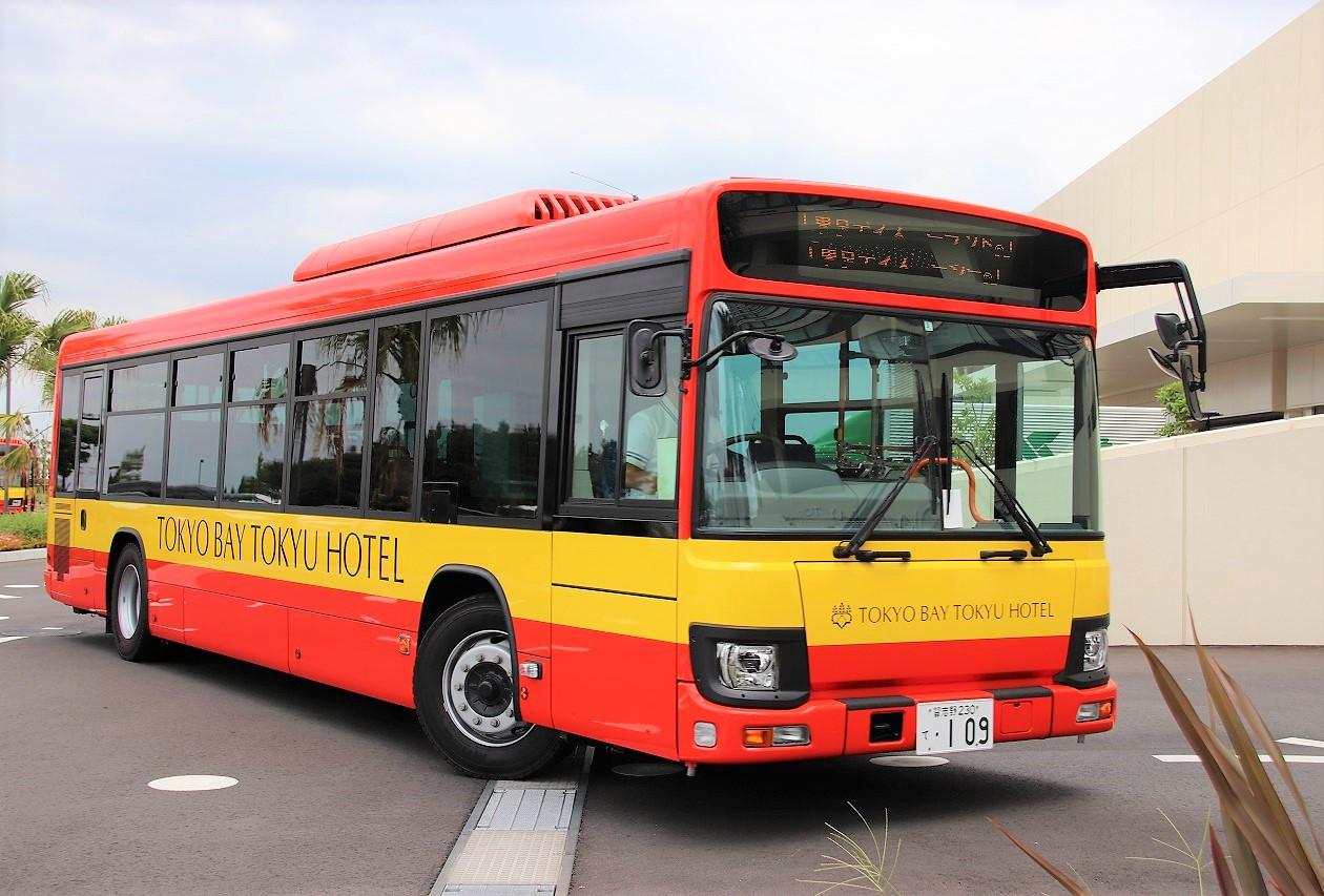 東京ベイ東急ホテルのバス