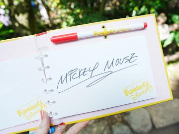 ディズニーキャラクターからサインをもらうポイントを知ろう