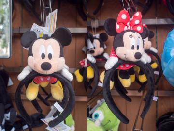 ディズニーのカップルにおすすめカチューシャ9種類!ペアやおそろいに!値段も