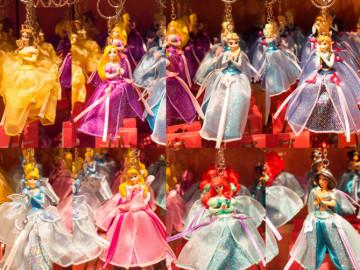 ディズニープリンセスキーチェーン&ストラップグッズ35選!靴やドレスデザインモチーフでかわいい!