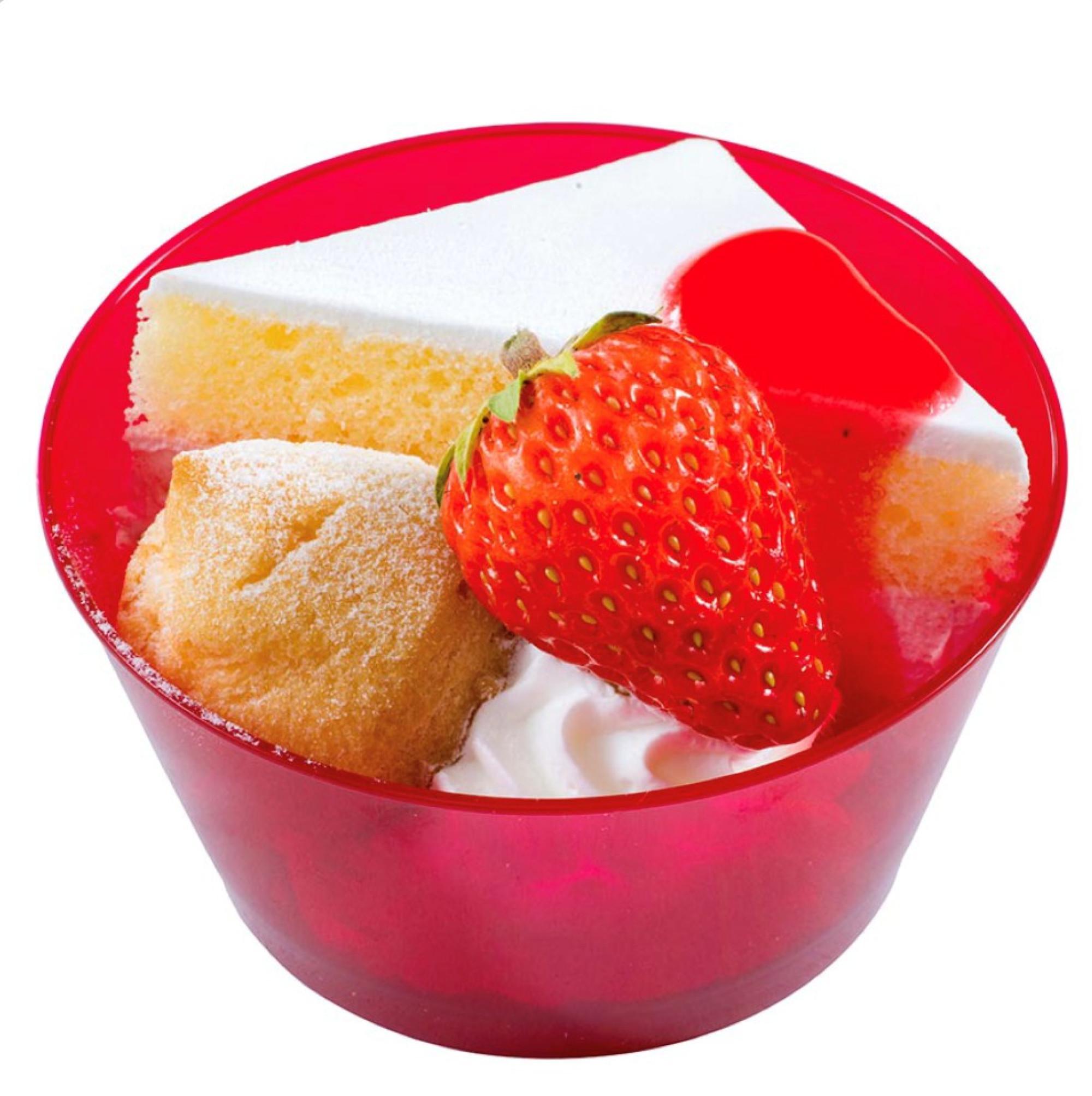 ストロベリークリームケーキ&プチシュークリーム