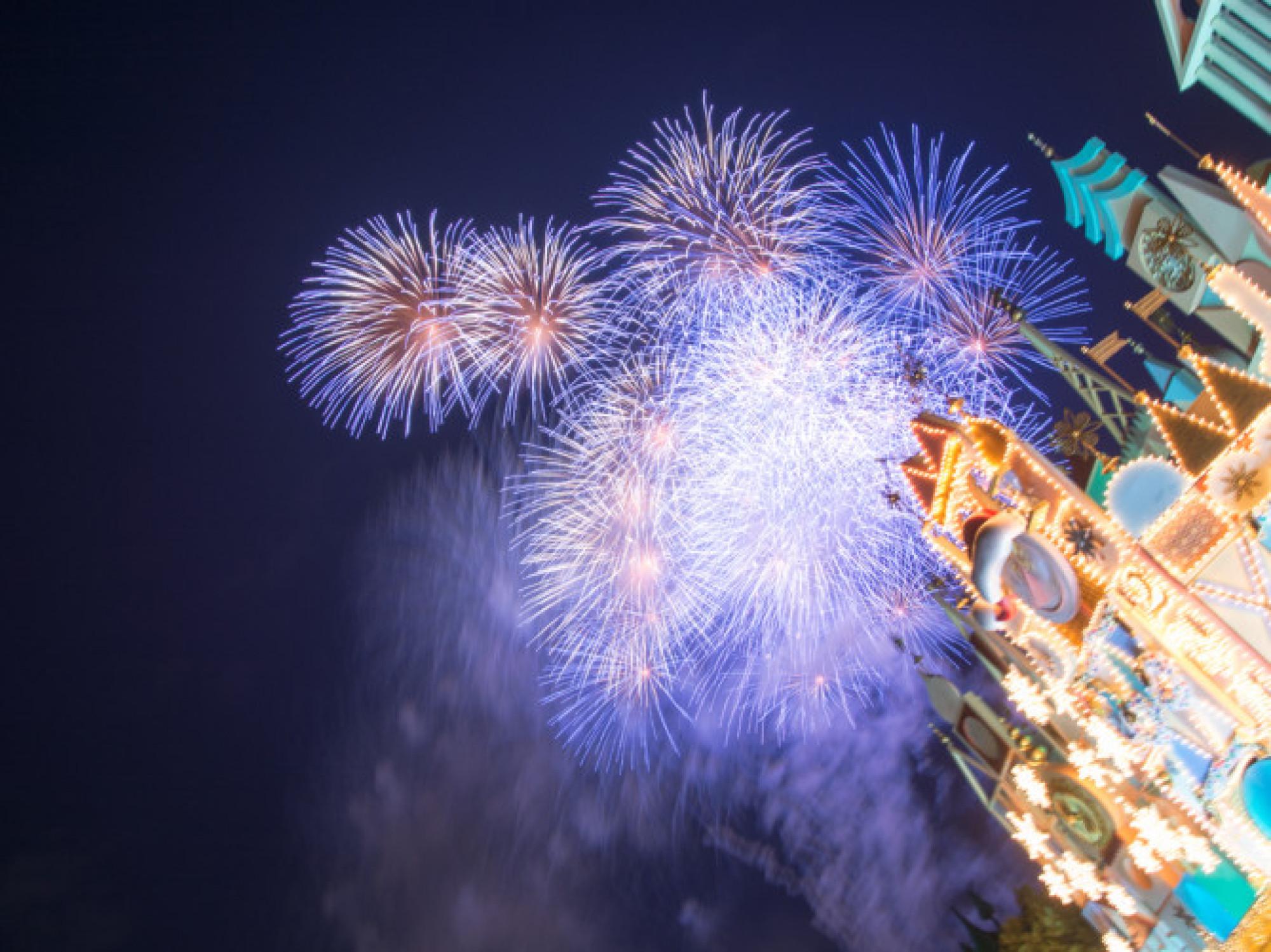 ディズニーの花火