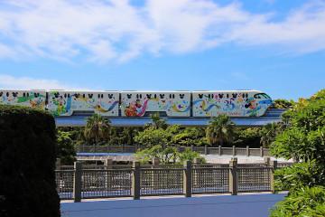 【2018】ディズニーリゾートラインに35周年&イースターデザイン登場!値段やSuica等の切符について解説