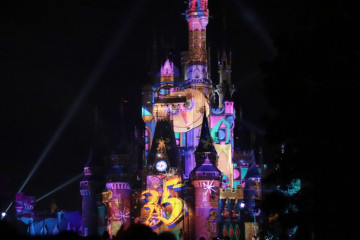 【最新】ディズニー新プロジェクションマッピング「Celebrate! Tokyo Disneyland」が7/10スタート!