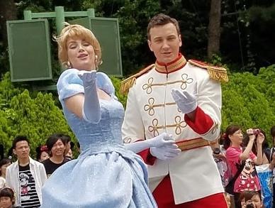 シンデレラ&チャーミング王子