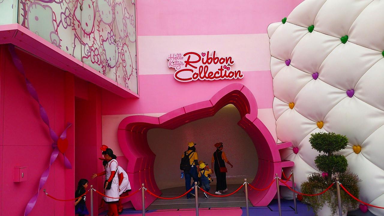 ハローキティのリボンコレクション入口