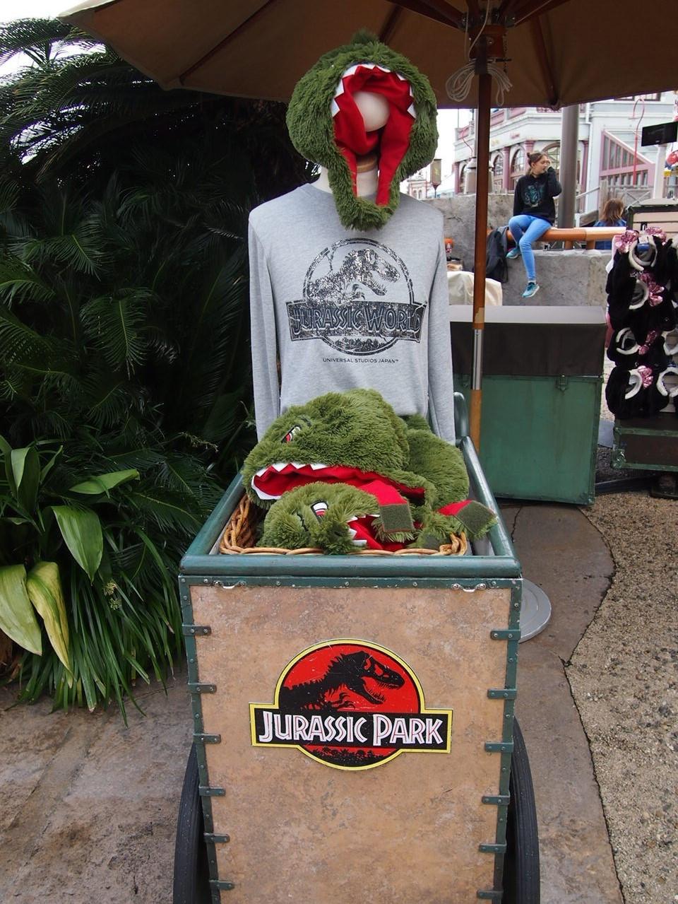 ティラノサウルスぬいぐるみハット