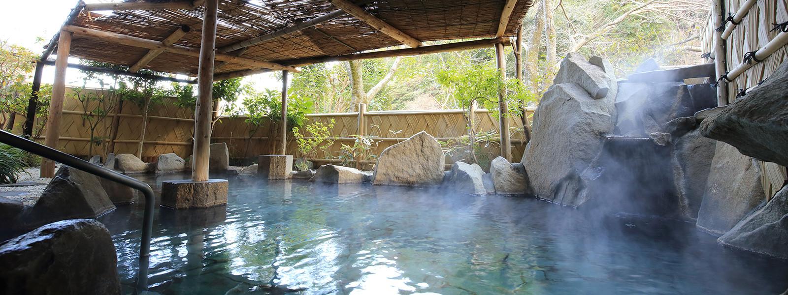 趣ある長泉山荘の露天風呂