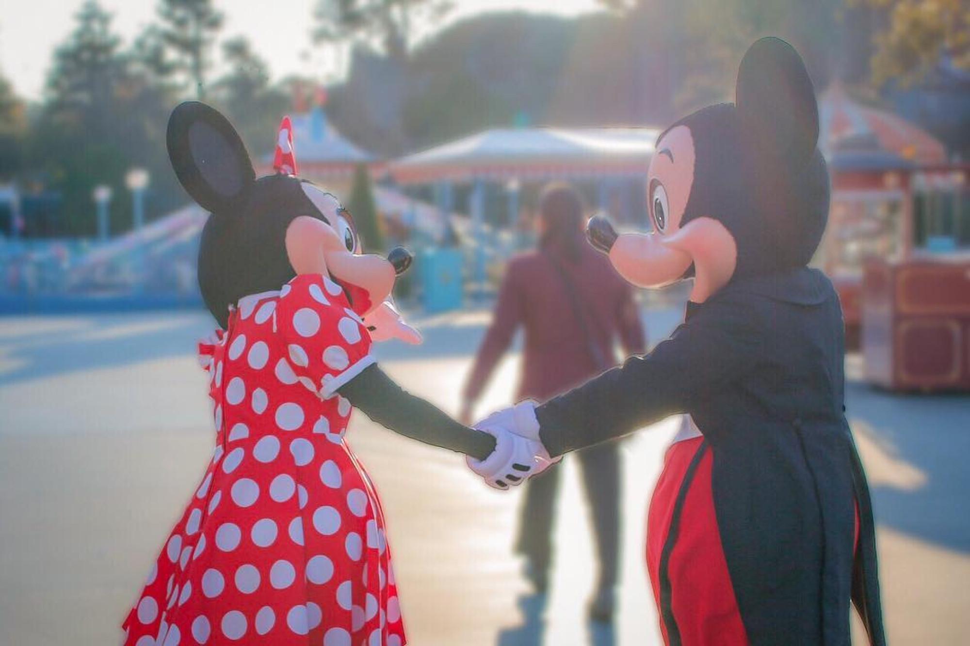 ミニーとミッキー