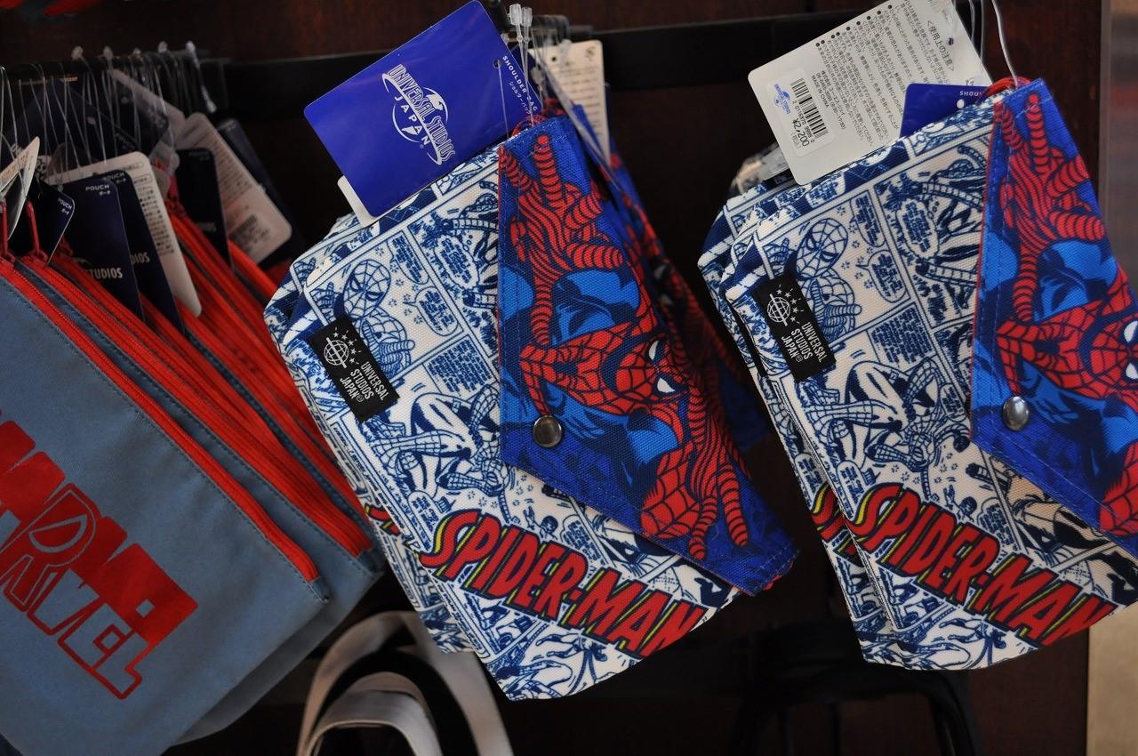 スパイダーマンショルダーバッグ